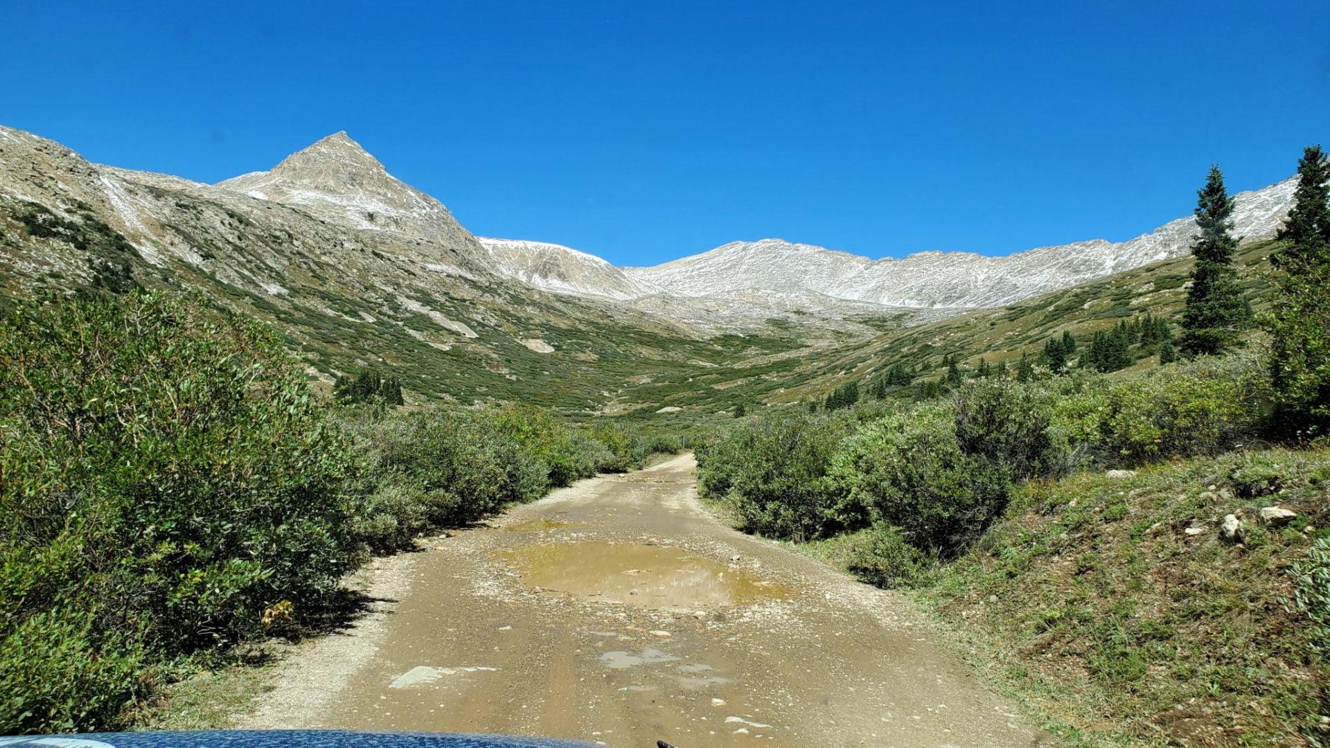 The trail at treeline