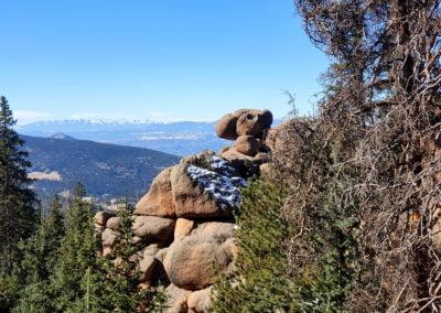 Rock formations near Pancake Rocks