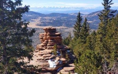 Pancake Rocks (11,060′), Front Range