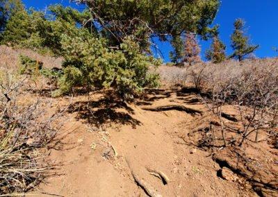 Very steep - a tough scramble