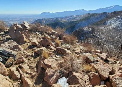 Blodgett Peak looking south