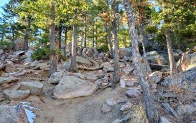 Blodgett Peak (9,429′), Front Range