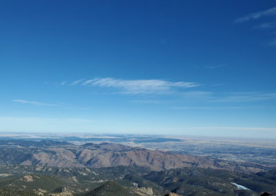 The Front Range and eastern plains
